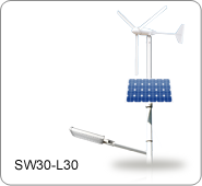 太陽能/風力發電 LED路燈, SW30-L30