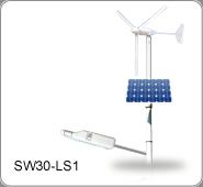 太陽能/風力發電 LED路燈, SW30-LS1